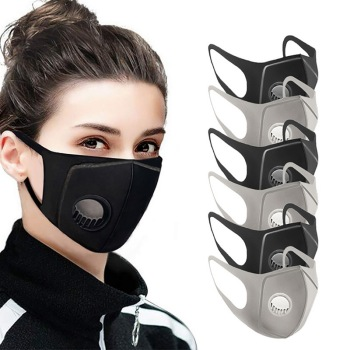 Mask reusable 6pcs sponge protect