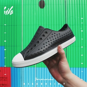 Image 1 - صنادل لعام 2020 أحذية رجالية أصلية من Wnc مقاومة للمياه من EVA Croc صنادل للنساء صنادل مفتوحة للشاطئ للخروج أحذية بمقاسات 36 45
