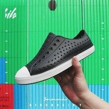 2020 sandálias masculinas wnc sapatos nativos à prova dwaterproof água eva croc literide sandálias femininas ao ar livre deslizamento na praia sapatos ocos tamanho 36 45