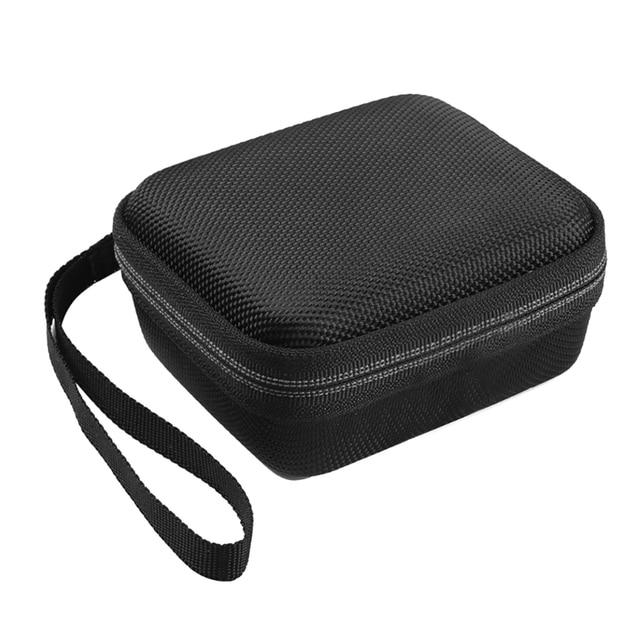 محمولة EVA سحاب غطاء واقٍ مزخرف لهاتف آيفون حقيبة التخزين صندوق للذهاب 2 سمّاعات بلوتوث