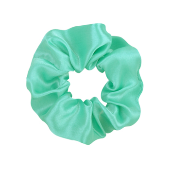 3.9 inch Women Silk Scrunchie Elastic Handmade Multicolor  Hair Band Ponytail Holder Headband Hair Accessories 36