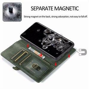 Image 3 - Detachable Flip Leather Wallet Case For Samsung Galaxy S8 S9 S10 E S20 Ultra Note 8 9 10 Plus A10 A20 A30 A40 A50 s A70 A51 A71