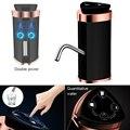 Портативный Двухкнопочный беспроводной Перезаряжаемый Электрический водяной насос с usb-кабелем и индикатором