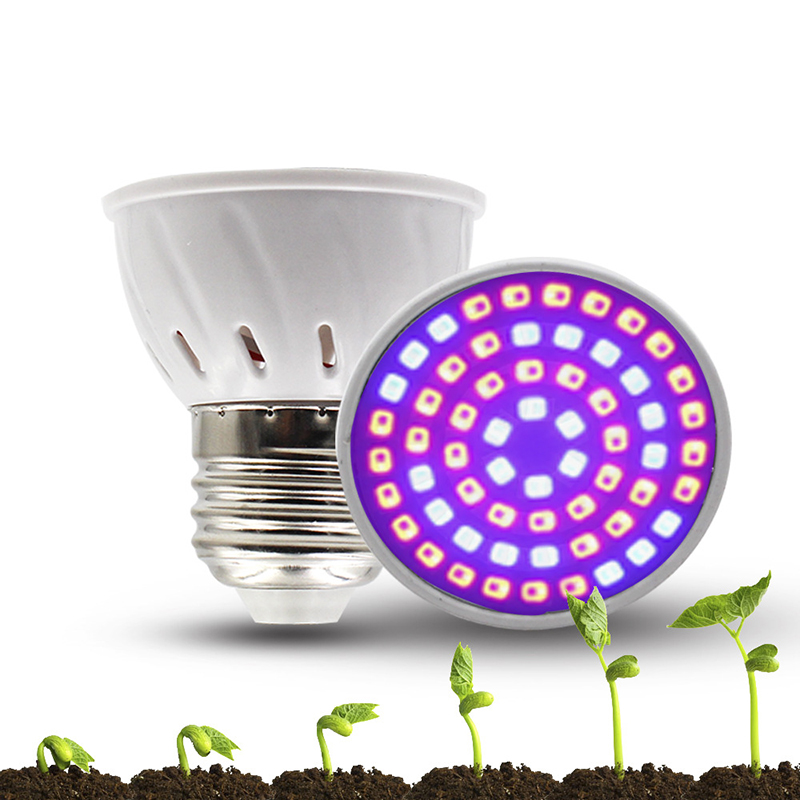 Phyto Led Hydroponic Growth Light E27 Led Grow Bulb MR16 Full Spectrum 220V UV 110V Lamp Plant E14 Flower Seedling Fitolamp GU10
