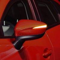 Car Styling 2PCS Dynamic Turn Signal Light LED Side Mirror Indicator Blinker Light For Mazda CX 5 2015 2016 /CX 3 2017 2018 2019 Awnings & Shelters     -