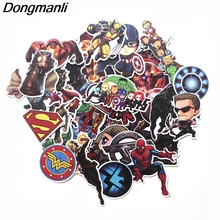 PC57 30pcs/set The Avengers Scrapbooking Stickers Decal For for Guitar Laptop Luggage Car Fridge Graffiti Sticker