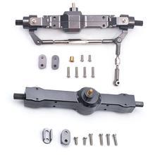 Металлическая Передняя Задняя мостовая ось аксессуары для WPL 1/16 HengLong грузовик RC автомобиль игрушка Отличная производительность выдающийся дизайн