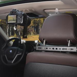 Image 5 - 3in1 ماجيك الذراع الثقيلة سيارة مسند الرأس DSLR عمل كاميرا حامل هواتف ذكية جبل التوسع عدة Vlog تلاعب لكانون نيكون GoPro