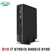 Hot Gaming Computer Intel core i7 8700 i5 8400 i3 8100 Nvidia GTX 1050 4GB Mini PC 2*DDR4 2*HDMI 2.0 1*DP 1*DVI