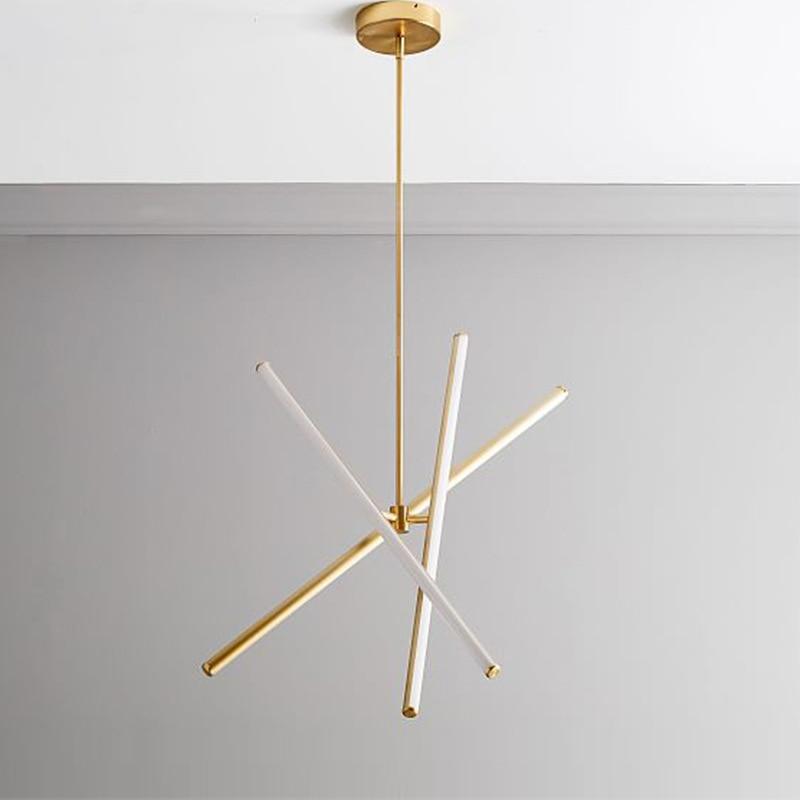 Işıklar ve Aydınlatma'ten Kolye ışıkları'de Iskandinav modern moda avize tasarımcı yemek odası yatak odası çalışma şube avize title=