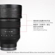 Anti scratch Objektiv Haut Abdeckung Für Sony FE 85mm 1,4 GM Wrap Film Protector Fall