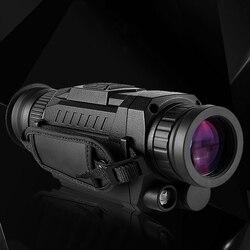 جديد 5x35 الصيد الأشعة تحت الحمراء تليسكوب رؤية ليلية 200 متر التكتيكية أحادية HD الرقمية أحادية العين كاميرا التصوير الحراري