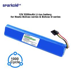 Sparkole 12V 5200mAh Li-Ion ersatz batterie für Neato BotVac 70e 75 80 85 D75 D85 Staubsauger für neato Botvac D serie