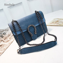 Luxury Brand Crossbody Bags For Women Fashion Designer Chains Shoulder Bag Famous Leather PU Messenger Bag(China)