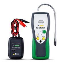 Holdpeak hp 25 verificador automotivo do rastreador do fio do cabo, para a instalação e manutenção do airbag, das linhas do automóvel e das linhas de máquina