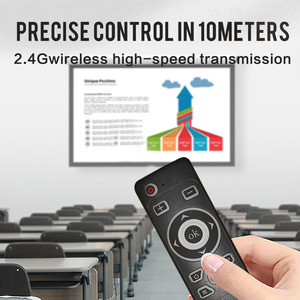 Image 5 - Smart Voice Control GyroAir Mouse  IR Learning 2.4G Wireless Fly Remote Control for TD90s X96 Mini H96 MAX TV Box