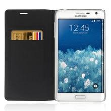 Bolsa em Couro flip Tampa Caixa Do Telefone Para Samsung Galaxy Note Borda SM N915 N9150 N915F N915T N915G SM-N915F Carteira do Cartão de Crédito pochette