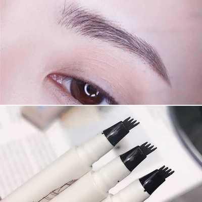 MB 4 Color Eyebrow Pencil Tint 4 Tip Brow Tattoo Pen Paint Makeup Eyebrows Waterproof Cosmetic Eye brow Liner 2
