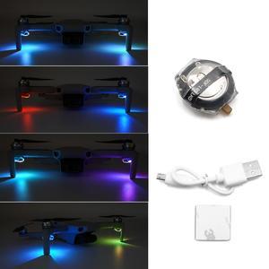 Mavic Mini LED Lights Night Flying Kit Signal Lights Seven Color DIY For DJI Mavic Drone Expansion Accessories(China)