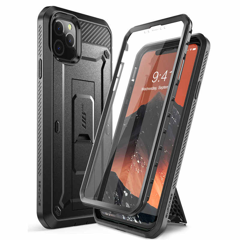 SUPCASE For iPhone 11 Pro Max Case 6.5 inch UB Pro Full-Body Rugged Holster Cover with Built-in Screen Protector & Kickstand
