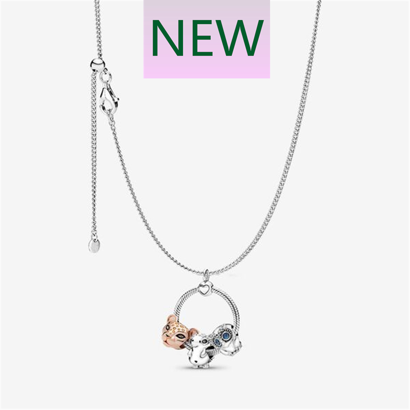 ZEF Sterling Silver 2019 Autumn New Necklace, O Chain, Glamour Original Ladies Jewelry, Can Be Matched With Any Bead Pendant