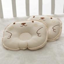 Baby Nursing Pillow Infant Newborn Sleep Support Cotton Concave Cartoon Pillow Printed Shaping Cushion Prevent Flat Head
