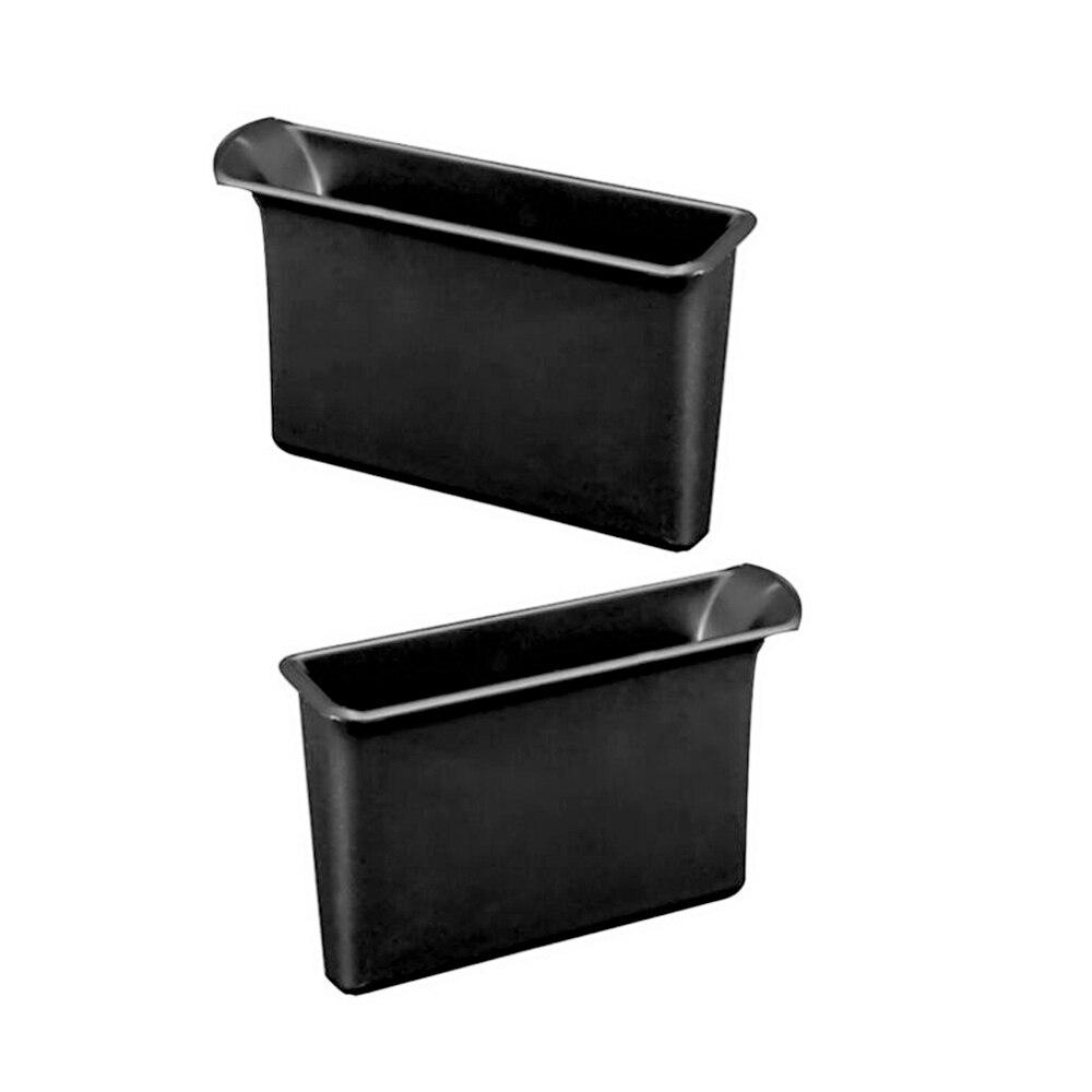 2шт Автомобильный подлокотник дверь контейнера ручка ящика для хранения карман для Suzuki Jimny Черный Авто Дверной ящик для хранения es аксессуары