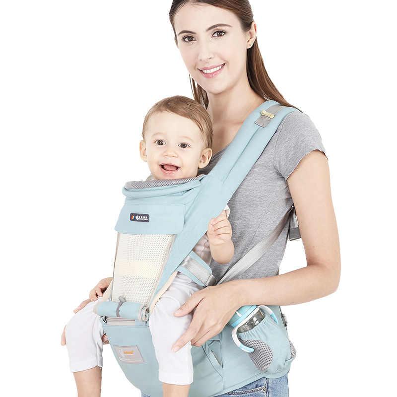 Ergonomiczne noworodki nosidełko dla dziecka niemowlę plecak dla dzieci Hipseat Sling przodem do świata kangur otulaczek dla dziecka podróż 0-36 miesięcy