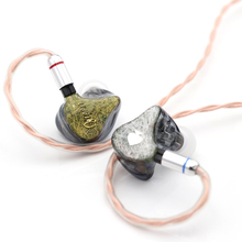 Queen Audio QM80 8BA Balanced Armatures HiFi in-Ear Earphones with Detachable 0.78mm 2Pin Cable