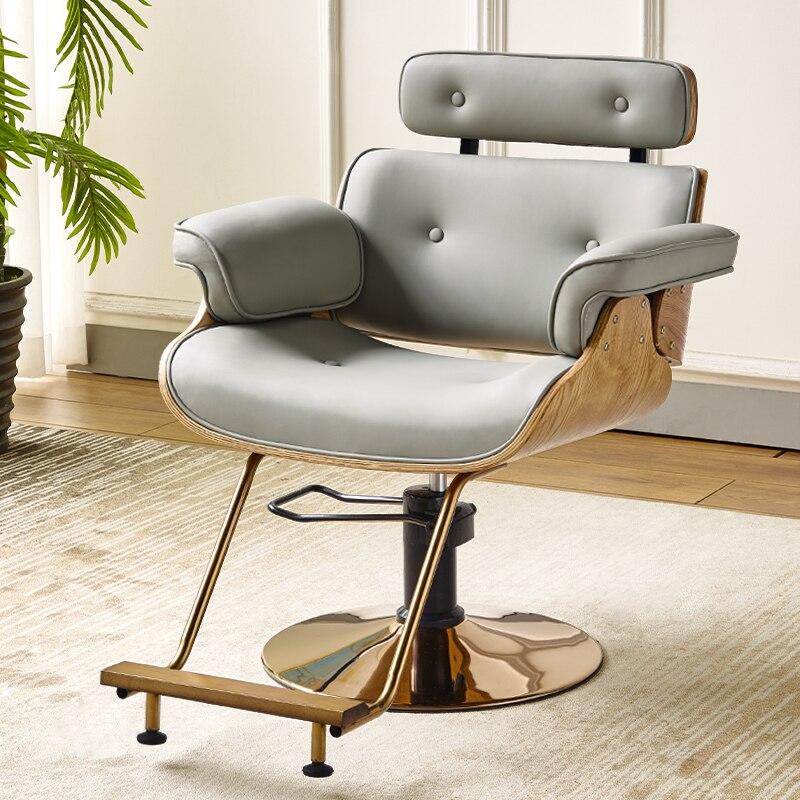 Sedia Chaise Barbeiro Stoelen Hairdresser Sedie Beauty Barbero Nail Salon Furniture Barbearia Silla Shop Cadeira Barber Chair