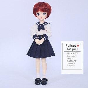 Image 5 - SQ מעבדה _ מו Chibi 31cm 1/6 BJD SD שרף דגם תינוק בנות בני בובות משלוח עיניים באיכות גבוהה יום הולדת מתנות חנות Fullset OUENEIFS