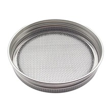 цены 1/4PCS Practical Durable Stainless Steel Germination Strainers For Jar Seed Germination Strainers Lids