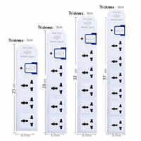 Mehrere AC Elektrische-Dosen Power Streifen 3 4 5 6 Outlets US EU UK AU CN stecker Verlängerung Buchse Netzwerk filter 10A 250V 2000W