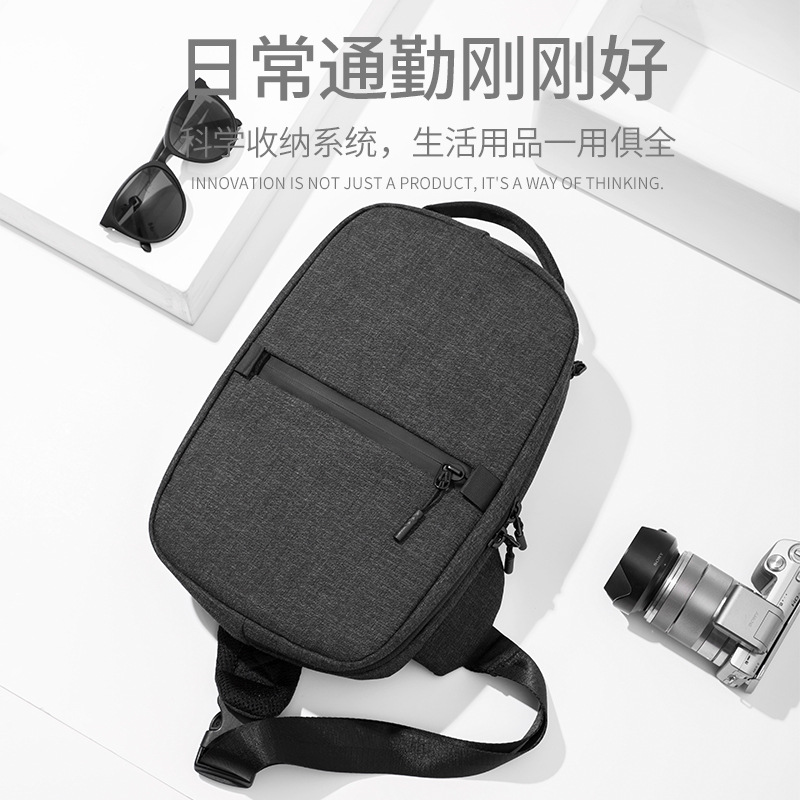 New Style Men Chest Pack Outdoor Casual Sports Shoulder Bag Multi-functional Breathable Shoulder Bag Men Bag
