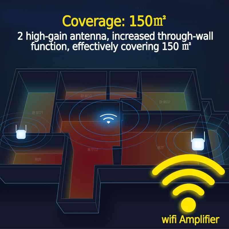 Repetidor Wifi inalámbrico para el hogar, señal 300 Mbps, extensor de rango Wi-fi, amplificador de punto de acceso, antena amplificadora, enrutadores multifunción