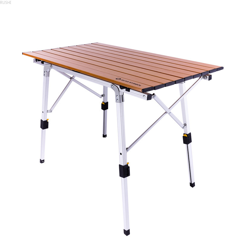 Minimalist Modern Of Self-driving Tour Outdoor Sketching Aluminum Alloy Outdoor Folding Table For Camping And Barbeque
