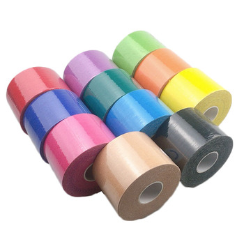 5 Rolls Kinesiology Tape Athletic Recovery Self-adhesive Elastic Bandage Sport Taping For Ankle Shoulder Knee Back breast lift