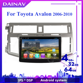 2 Din Android Car Radio HD Autoradio Multimedia Player For Toyota Avalon 2006-2010 Car DVD Player GPS Navigation image