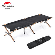 Naturehike Camping Cot Compact Folding Cot Bed for Outdoor Backpacking Camping Cot Bed(China)