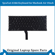5pcs/lot Keyboard for Macbook Air 13 inch A1466 keyboard US UK Version 2013-2017