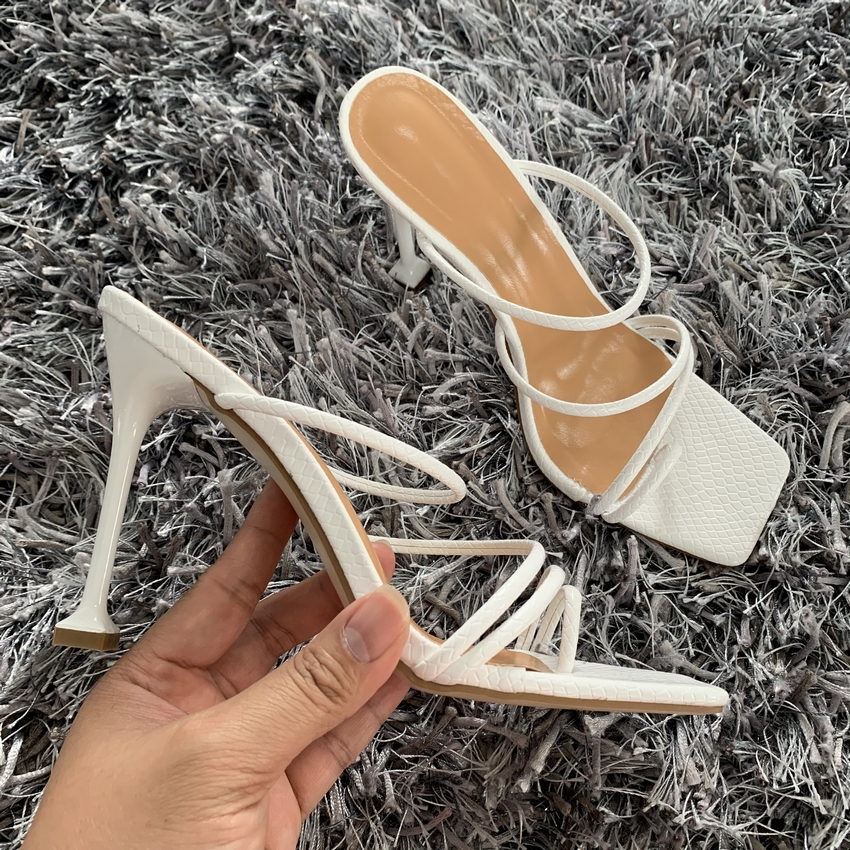 H4f5c50f69820456192b4a2bff39c5ef6p - Summer Pumps New Sexy Gladiator Sandals Shoes Women Thin High Heels Open Toe Sandal Lady Ankle Strap Pump Shoes Size 35-42