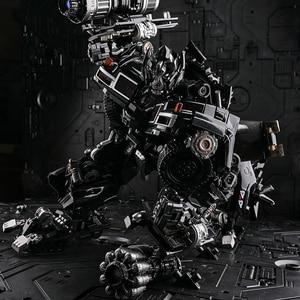 Image 4 - TransformationสีดำMamba BMB LS 09 LS09อาวุธIronhide KO Action Figureโลหะผสมโลหะภาพยนตร์Action Figureรูปของเล่น