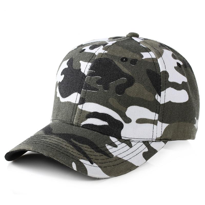 New Fashion Adjustable Unisex Army Camouflage Camo Cap Casquette Hat Baseball Cap Men Women Casual Desert Hat