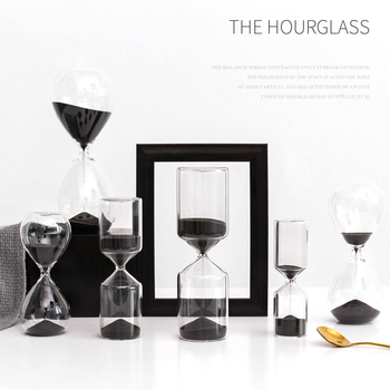 1Pcs Hourglass 5/10/15/30 Minutes Timer 30 Minute Desktop Sand Watch Clock Hourglass Timer Hourglass Crafts Gifts Home Decor New фото