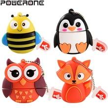 POWERONE HEIßER! Nette mini cartoon pinguin eule pen drive usb flash drive usb-stick 4 GB/8 GB/16 GB/32 GB usb stick