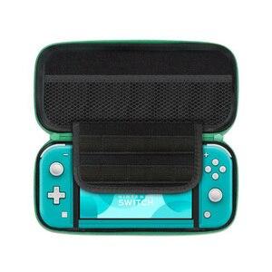 Image 5 - Bolsa de viaje con diseño de Animal, caja de almacenamiento para consola, carcasa dura, soporte para tarjetas de juego para Nintendo Switch NS Lite, funda protectora