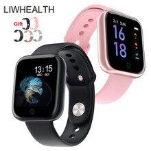 Luxury IWO 80 Smart Watch Women Men Metal Smartwatch Reloj Inteligent For Apple/Xiaomi/Huawei PK B57/P70/Fit Bit Not 10