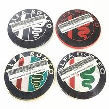 Эмблема Красного Креста для Alfa Romeo Giulietta Spider Mito 147 156 159, 2 шт., 74 мм