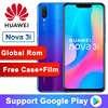 Global ROM Original Huawei Nova 3i nova3i Smartphone 4G RAM 128G ROM 6.3 inch Kirin710 Octa Core Android 8.1 Mobile Phone