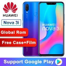 Global ROM Original Huawei Nova 3i nova3i Smartphone 4G RAM 128G ROM 6.3 inch Ki